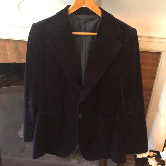 8cd876e16f3 Yves Saint Laurent Jackets & Coats | Made In France Velvet Jacket ...